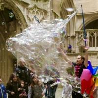 Le filet aux bulles