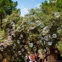 Une pluie de bulles
