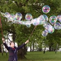 Des bulles pour un mariage