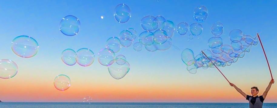 Animation bulles de savon