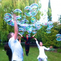 Animation bulles mariage