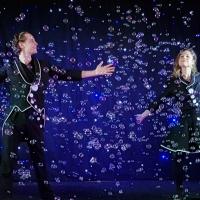 Le duo des magiciens des bulles