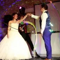 Bulles géantes mariage