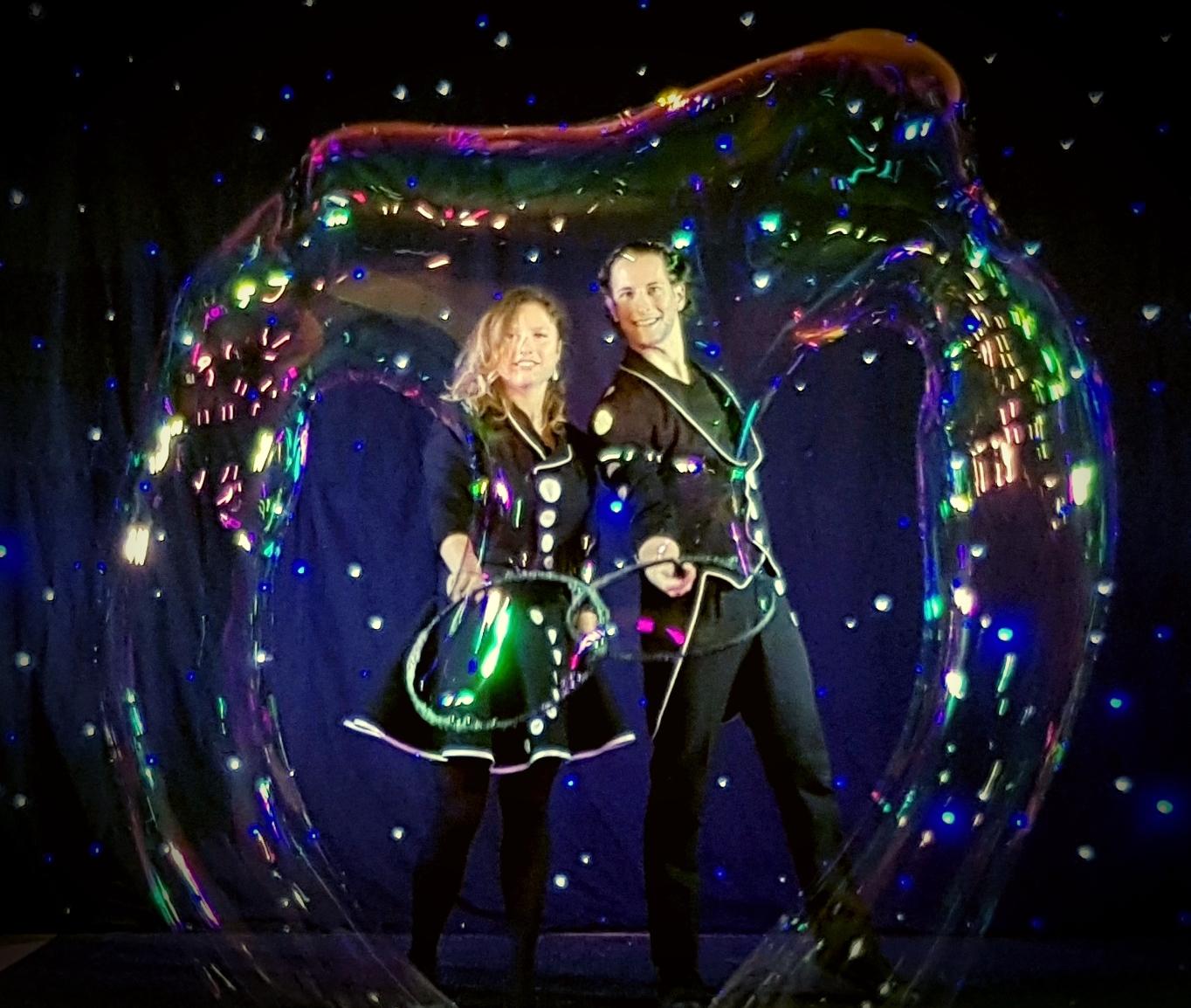 Les magiciens des bulles