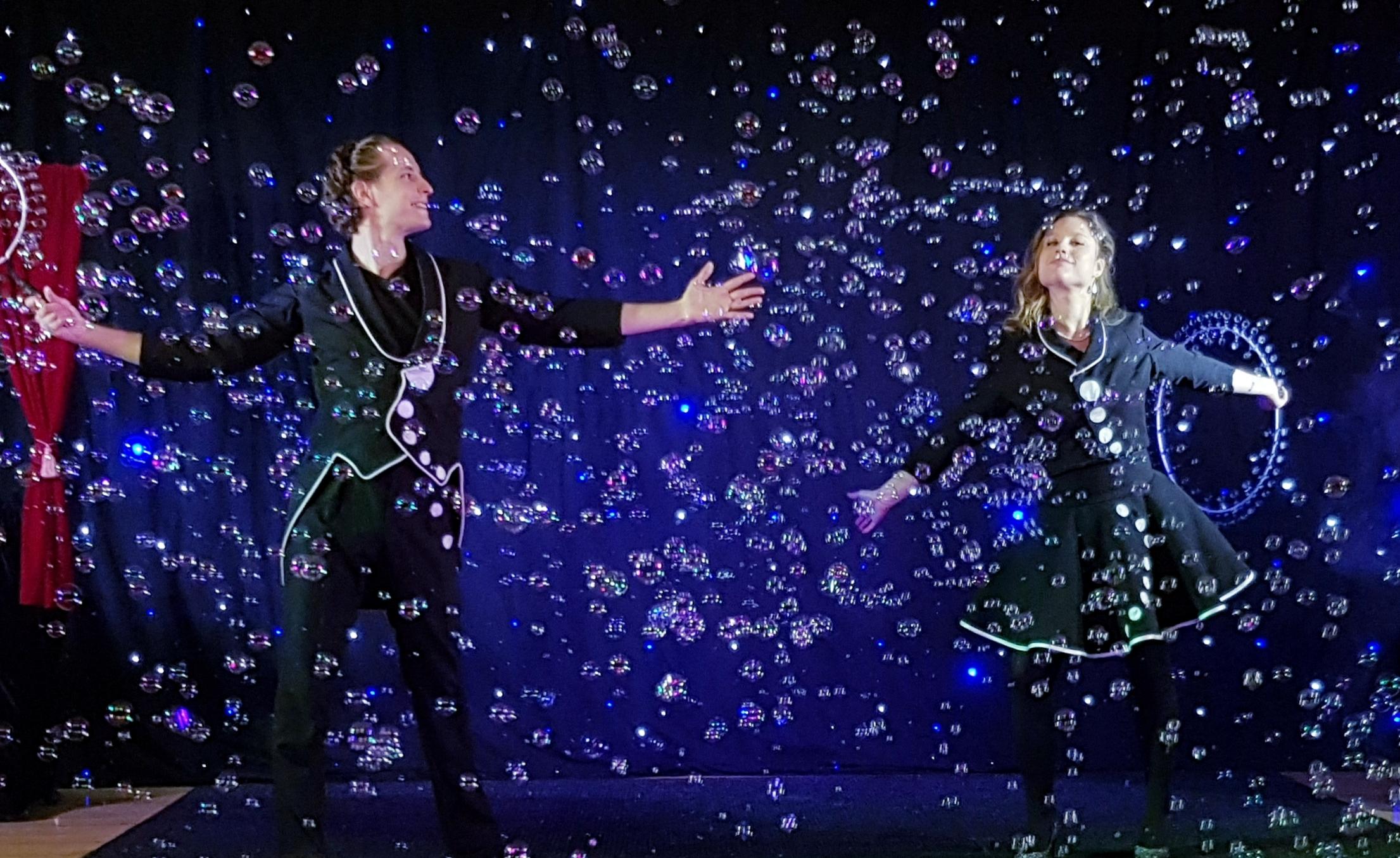 Pluie de bulles