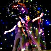 Le duo les magiciens des bulles