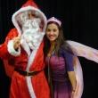 Père Noël et fée sculpteuse de ballons