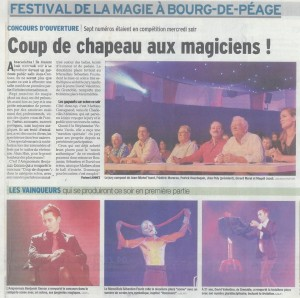 1er Prix Bourg de Peage