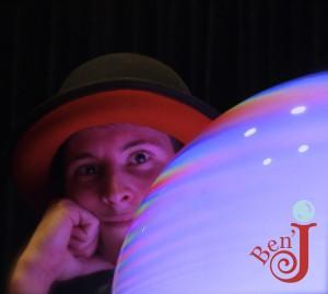 Ben'J le magicien des bulles de savon