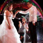 mariage bulles géantes
